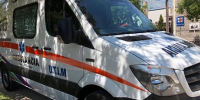 ambulancia de terapia móvil